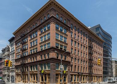 The Knickerbocker Telephone Company Building - Landmark Building 1893