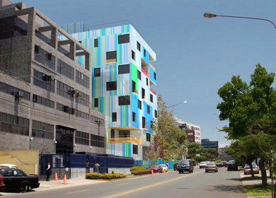 Render of Apartment Building in Lima