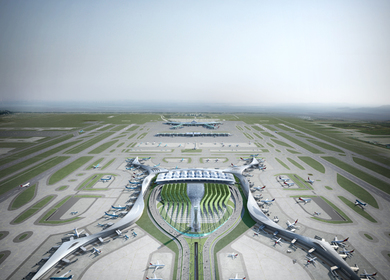 Incheon International Airport Passenger Terminal 2 Competiton