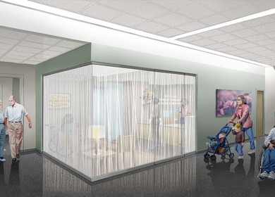 Rush Hospital Interior Renovation