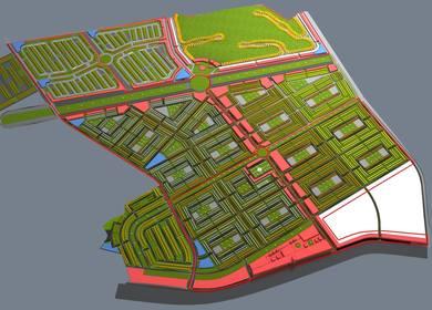 Urban design Social housing. Trujillo, Peru