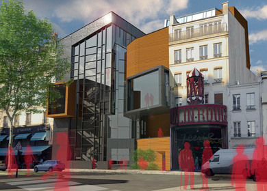 Collisions of Duality: A New Dance School for the Moulin Rouge