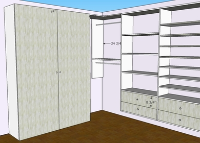 Midtown Wall Bed Unit Design