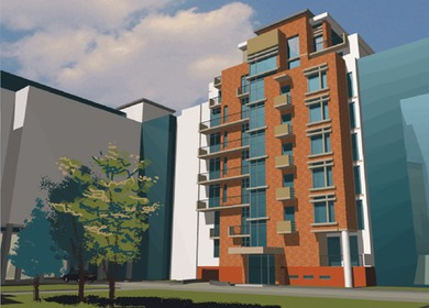 17 UNIT CONDOMINIUM, RETAIL AND URBAN RE-DEVELOPMENT.