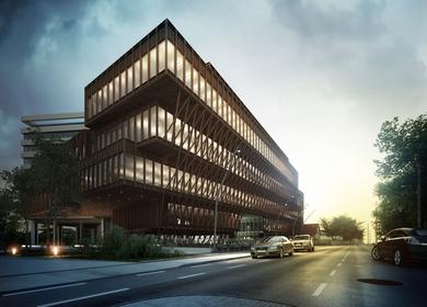 SOCIAL CENTER OFFICES EXTENSION IN GENEVA