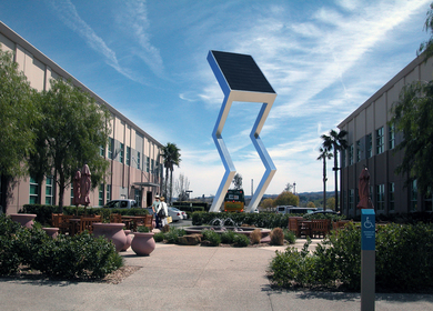The Solar Electric Sculptures
