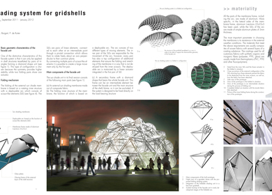 Adaptive Shading System for Gridshells
