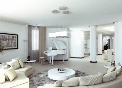 Charming Minimalism - Apartment Design in Multifunctional Complex in Yerevan