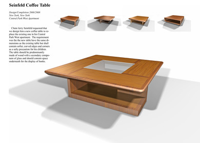 Seifeld Coffee Table