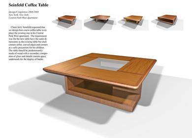 Seifeld Coffee Table