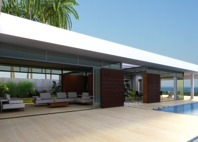 Caflish Beach house