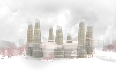 Energetic, economic and efficient city. E3CITY Thesis Project
