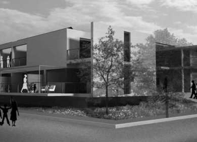 First Price in the European Architectural Design Competition for
