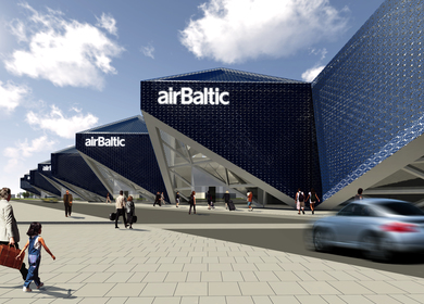 Airbaltic New Terminal Design Competition
