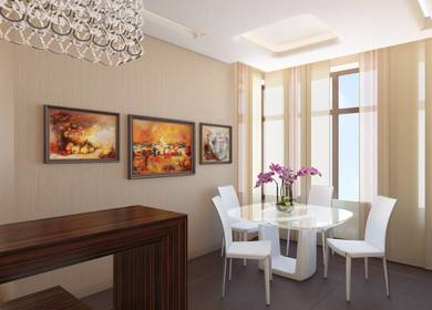 Apartment Design on Marshal Katukov str. in Moscow