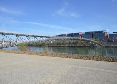 Peace footbridge