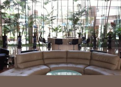 Waikiki Landmark Building Lobby, 2012