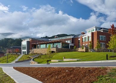 YOUNG HARRIS COLLEGE ROLLING CAMPUS CENTER
