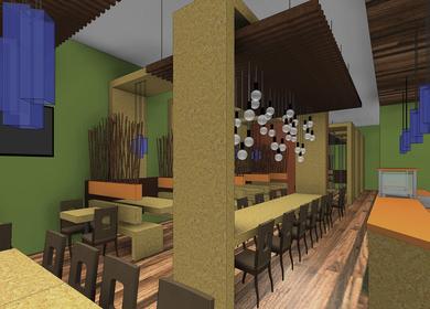 Crepe Guys Restaurant Interior