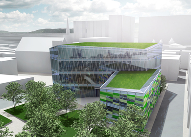 Thesis project | Daegu Green Public Library