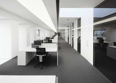 Refurbishment of warehouse for Acer Computer Ibérica offices