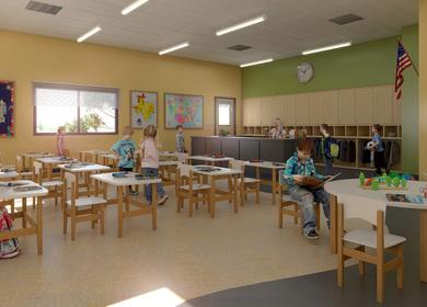 Classroom Renovation | Pflugerville, Texas