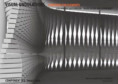 VISUAL UNDULATIONS - Screening the Elements