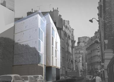 15 logements collectifs - 2 locaux dactivité - Paris
