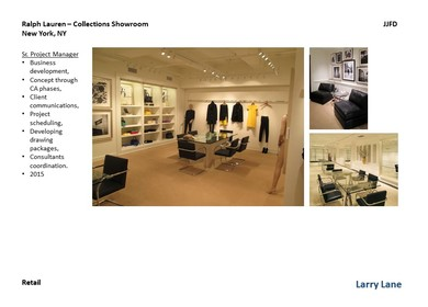 Ralph Laurens Collections Showrooms