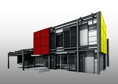 Plus Energy Prefab House