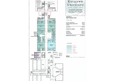 H2L2,(Feasibility Study) Kutztown University, Science Center, Kutztown,PA