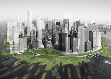 New Urban Ground: Rising Currents - Projects for New York's Waterfront