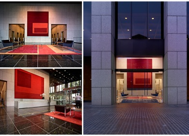 Bank of America Plaza Lobby (2008) - Los Angeles, California - Brookfield Properties - 23,652 SF