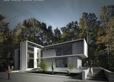 Oak Forest Drive Residence
