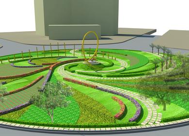 mandi house roundabout