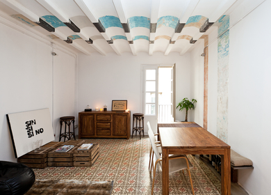 9 FLATS IN THE GOTHIC QUARTER OF BARCELONA