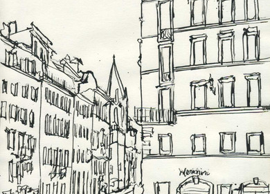 Rome Drawings