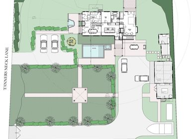 Master Plan for Existing Residence and Accessory Buildings