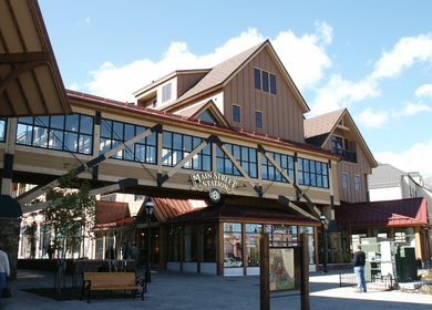 Main Street Station Ski Resort Base Building Interiors
