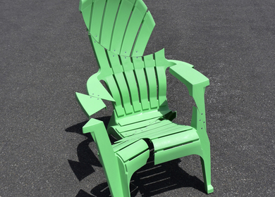 Deconstructing My Adirondack Chair
