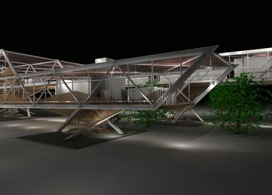 Steel Competition Entry: PTSD Outpatient Center