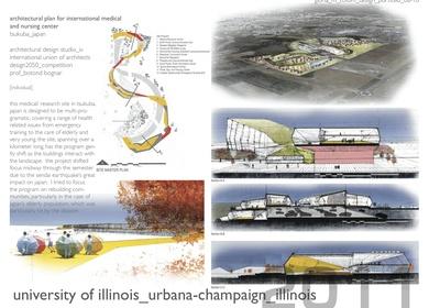 Architectural Plan for International Medical and Nursing Center