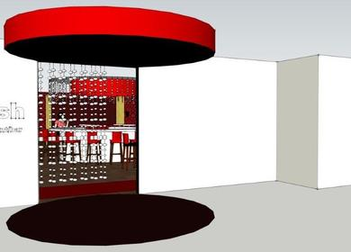 Restaurant Renovation 3D Sketches