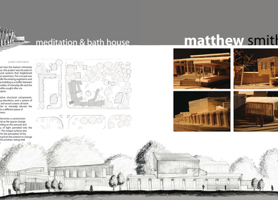 Meditation & Bath House