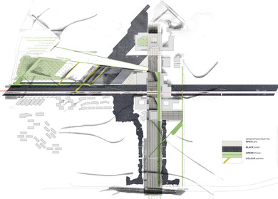 Winner, University of Canberra, Campus Design / Architecture Competition