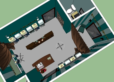 Small store layout