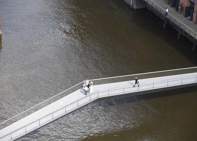Museums footbridge