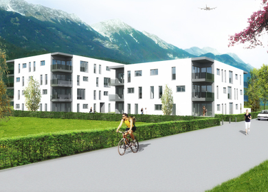 Visual work for a project in Innsbruck