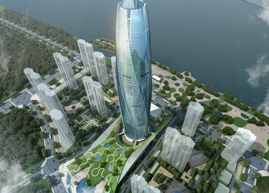 Fushun Green Center 'New City Flower'