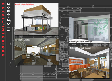 Interior samples of work